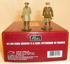 britains 41149 king george V and Earl Kitchener in France