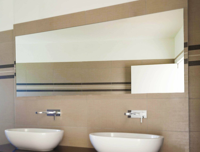 Badspiegel 6mm Kristallspiegel Badezimmerspiegel Bad Spiegel Wandspiegel