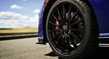 Genuine Oem Subaru Brz 2013 20 Sti Black Alloy 17 Wheel Set Withcenter Caps