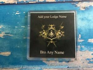 Personalised-Coaster-Freemason-Masonic-Freemasonry-Add-your-detials