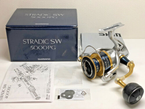 SHIMANO 18 STRADIC SW 5000PG Free Shipping from Japan