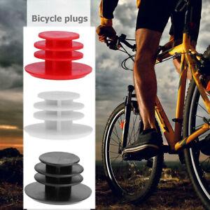 1 Pair Mountain Road Bike Handlebar End Plugs Kits Plastic Caps Bicycle Parts