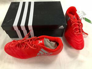 Détails sur Chaussures de Football avec Crampons ADIDAS X 16.3 FG Leather Pointure 47 13