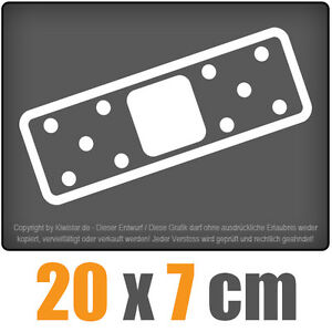 JDM-parche-20-x-7-cm-JDM-decal-sticker-coche-car-blanco-discos-pegatinas