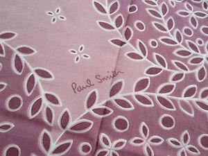 Paul-Smith-Bandana-Square-Scarf-UNISEX-034-LARGE-FLORAL-034-100-Cotton-120cm-x-120cm
