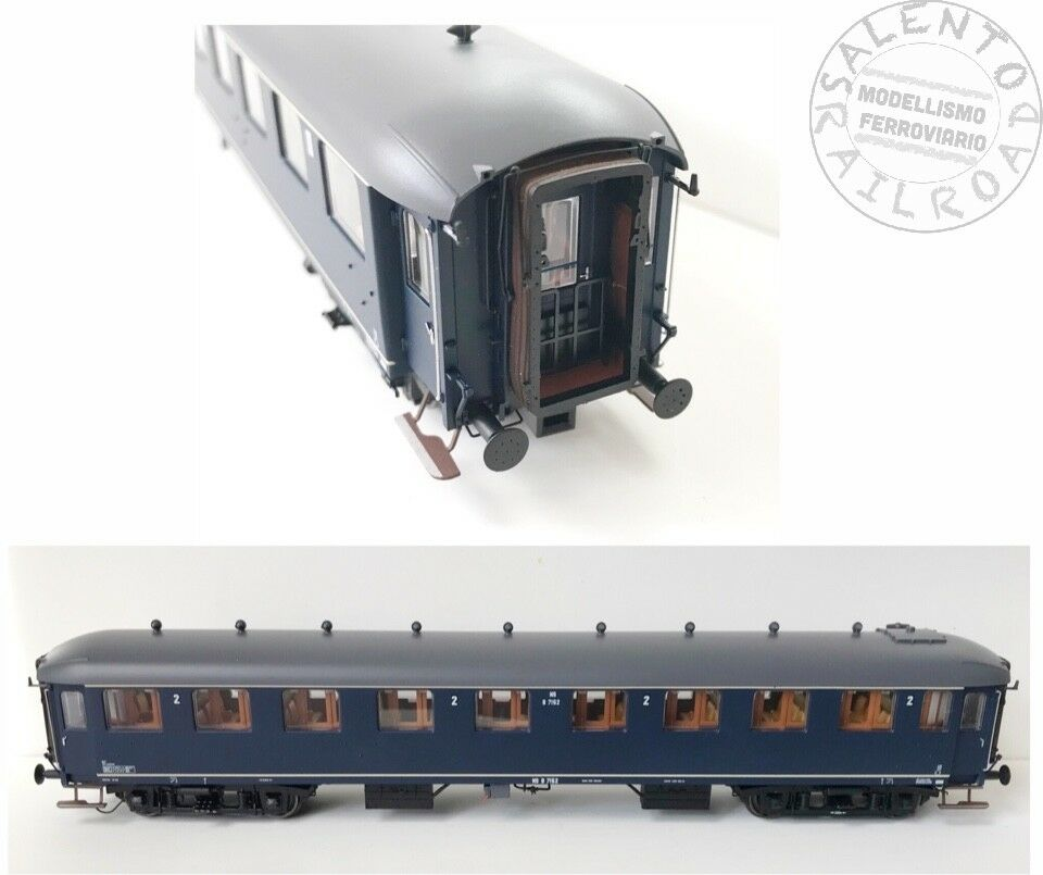 EX10016 carrozza 2° classe  NS B7153 ep. IIb (Pisa e Roma) - 1 87