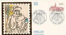 Enveloppe 1er Jour SAINT-EMILION  vin vignes 1981 timbrée