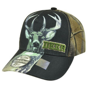 00751a07 Image is loading Deer-Buck-Two-Tone-Camouflage-Camo-Outdoor-Hunting-