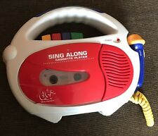 ✨  1997 DSI SING ALONG Music Story Cassette Tape Player Microphone Childrens Toy