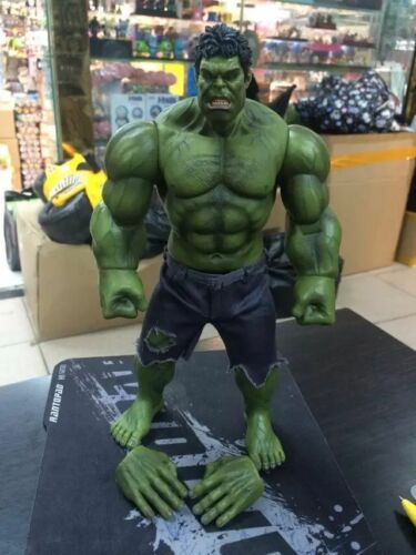 The Avengers Hulk Action Figure Toy Model Doll Cloth Shorts Display Collectible