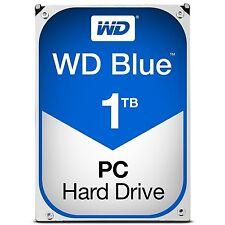 WD Blue 1TB SATA 6 Gb/s 7200 RPM 64MB Cache 3.5 Inch Desktop Hard Drive (WD