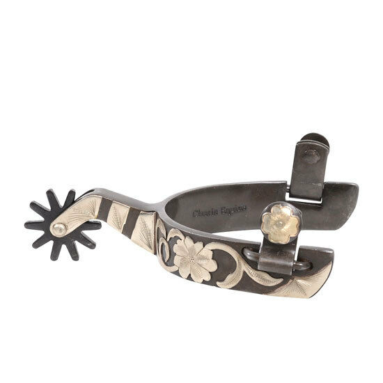Classic Equine Cutter Floral Spur
