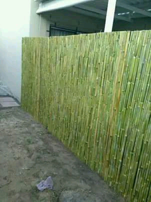 Wooden panel fence baboow screen and ceiling for baboow
