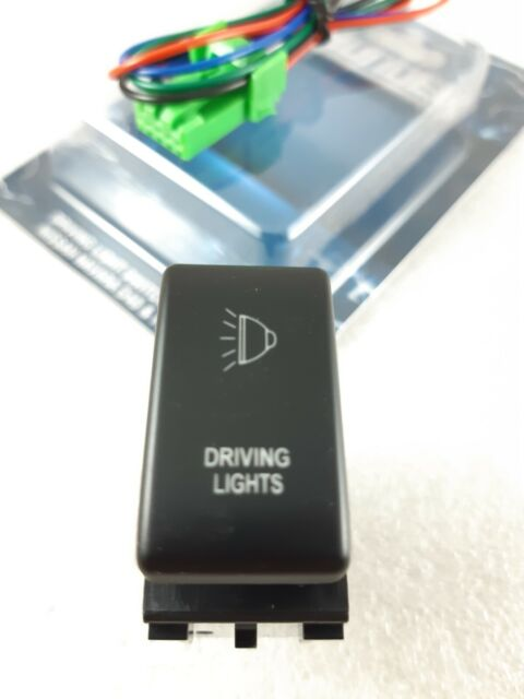 Driving Lights Switch to suit Nissan Patrol  GU Y61 Y62 2000-ON  Blue LED
