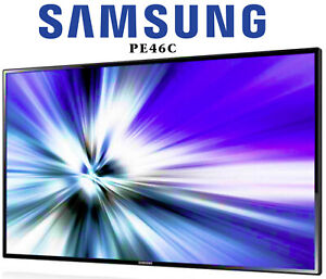 Samsung PE46C LED HD DIGITAL SIGNAGE MONITOR 700nits MagicInfo MEDIA