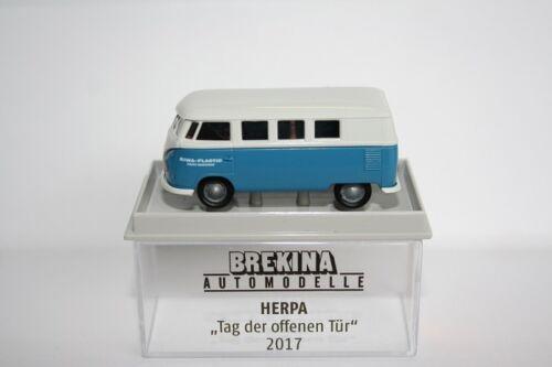 Brekina 932166-1//87 Volkswagen//VW t1b Station Wagon-riwa Plastic-NUOVO