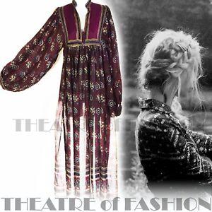 new products 85768 0db5e Dettagli su Abito Phool Indiano Seta Vintage Boho Da Matrimonio Stile  Hippy/Luxe Vamp Slip Dea della Bellezza FOLK- mostra il titolo originale