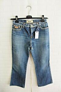 Jeans-MOSCHINO-JEANS-Donna-Pantalone-Alta-Vita-Pants-Woman-Taglia-Size-28-42