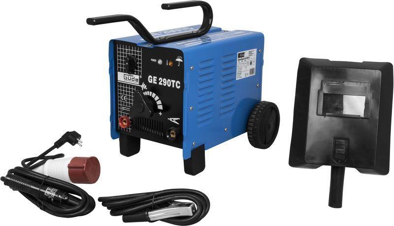 GÜDE GE 290 TC Schweißgerät 20007 Elektroden Schweissgerät Schweisser 230/400 V