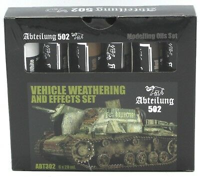 OILS SETS Abteilung 502 Vehicle Weathering and Effects Set