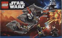 Lego Star Wars # 7957 Sith Nightspeeder - Bauanleitung (keine Steine!)