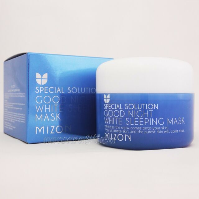MIZON Good Night White Sleeping Mask 80ml Whitening Hyaluronic acid