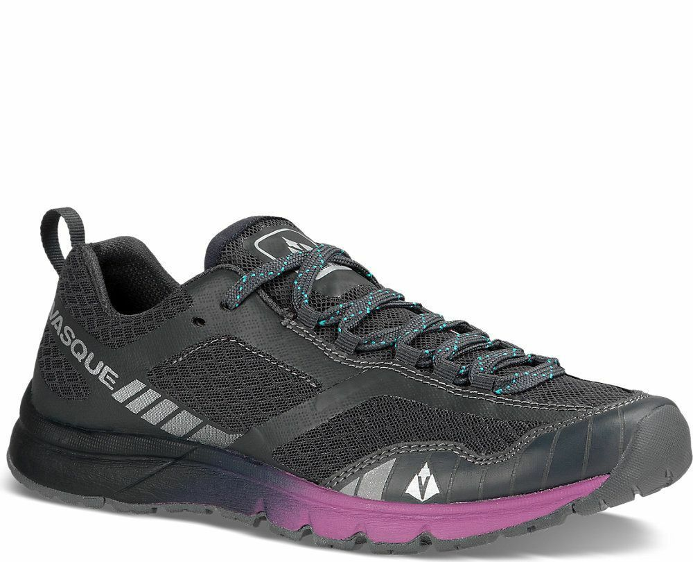 60% OFF  NEW  7639 femmes VASQUE VERTICLE VELOCITY RUNNING chaussures, US 8. EBONY.