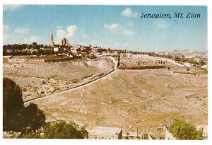 Jerusalem: Mount Zion Israel, Palestine Rare Picture Postcard