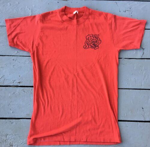 Vintage 70s Bus Stop Ltd  T shirt  Stedman Sport T
