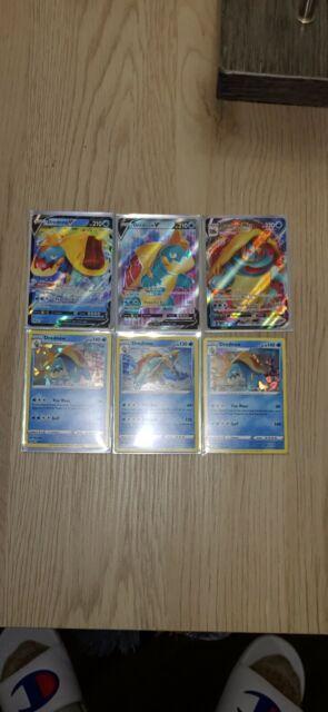 Drednaw VMAX 015/073 - Champions Path Set FULL ART Pokemon Cards LOT OF 6