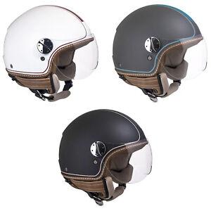Casco-Demi-Jet-Open-Face-CGM-109V-SANTA-MONICA-Per-Moto-e-Scooter-Omologato