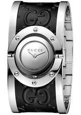 NEW  Gucci Women's watch Twirl YA112441 Analog Stainless Steel Leather