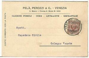 COMMERCIALE-181-VENEZIA-Carboni-Fossili-Coke-Antracite-PELA-039-PEROZZI-amp-C