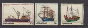Ships Singapore 167 - 69 ( MNH