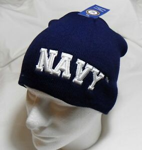 47603999016fd5 U.S. Navy Logo Watch Cap Beanie Winter Ski Hat Toboggan Officially ...