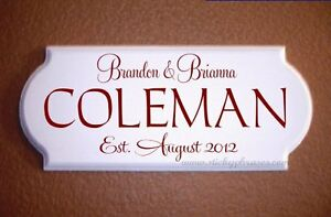 Marriage-Plaque-Family-Name-Personalized