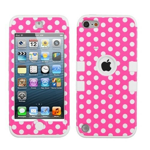 Dual Layer Hybrid ShockProof Silicone Case Cover for Apple iPod Touch 5 5th Gen