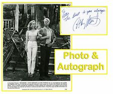 CATHY MORIARTY & DAN AYKROYD 1981 Vintage Original Photo & Autograph Card