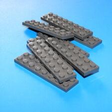 LEGO® Basic 42 Stück Platten Plättchen Plates 1//3 flach altdunkelgrau 2x2-2x12