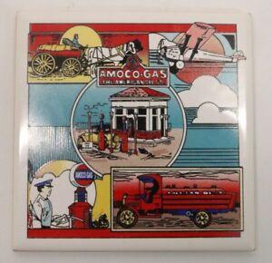Amoco Gaz L'american Oil Co. Tile Coaster-afficher Le Titre D'origine Xhkzbldb-08005106-511291798