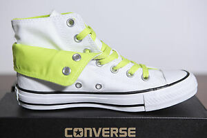 NUOVO All Star Converse Chucks Hi TWO FOLD BIANCO 542590c 79 tg. 36 uk3 5 2 14