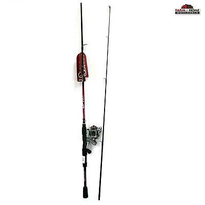 7/' Quantum Medium Spinning Fishing Rod /& Reel 5.2:1 Combo ~ New ~ Fast Shipping