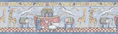 ANIMALS Noah/'s Ark Wallpaper Border SU75918