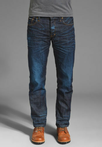 Nuova con Etichetta Prps Goods & Co Sz30 Rambler Aderente Jeans Nel Ginevra 1