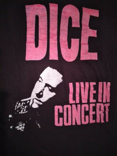 1989 ANDREW DICE CLAY Concert Shirt BROCKUM Large