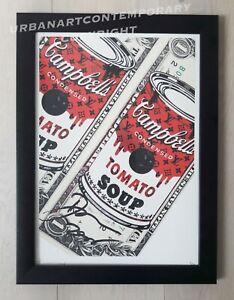Death NYC Lithographie Signée Datée Epreuve Art. COA + CADRE SUR MESURE Inclus