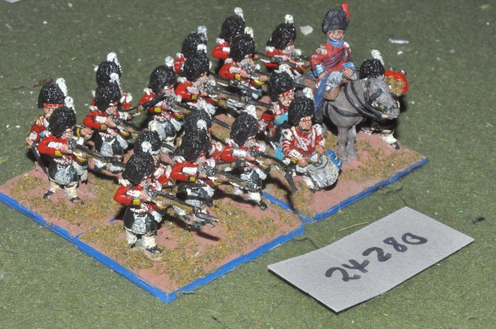28mm 19th century   british - highlanders crimean 19 figures - inf (24280)