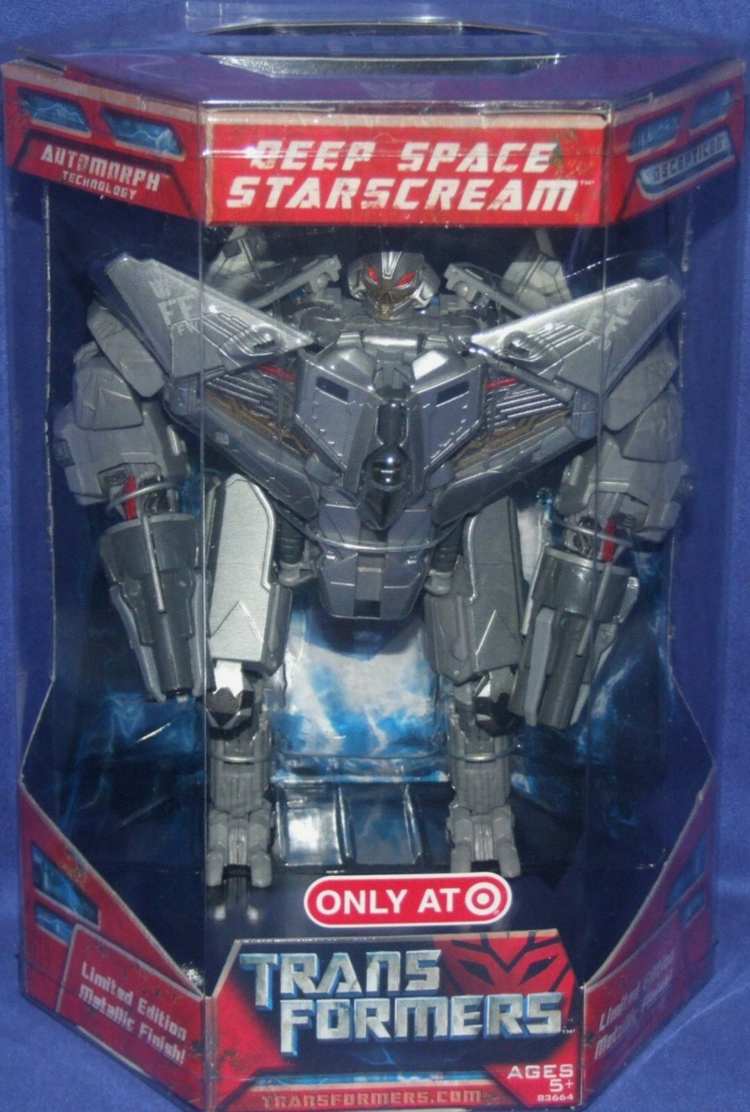 Transformers Target Exclusive Deep Space 8  Starscream NEW FACTORY SEALED