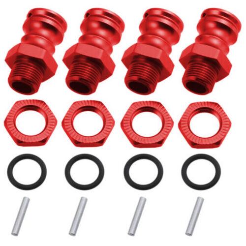1 Set 17mm Zu 23mm Wheel Hex Adapter Antriebsnabe Für 1//8 Skala RC Auto Teil