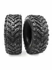 (2) 25X8-12 Mud Crusher Front ATV Tires 6Ply HEAVY DUTY pair of frontATVTIRES